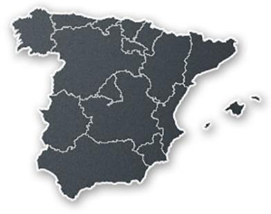 Karta Italien Spanien.Spanien Klosterresor